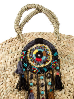bolso tribal negro